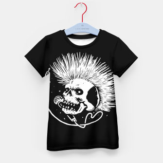 Thumbnail image of Skull Punk Kid's t-shirt, Live Heroes