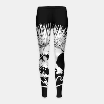 Thumbnail image of Skull Punk Girl's leggings, Live Heroes