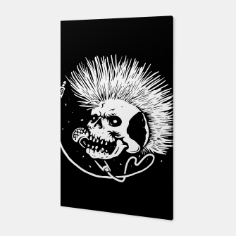 Thumbnail image of Skull Punk Canvas, Live Heroes