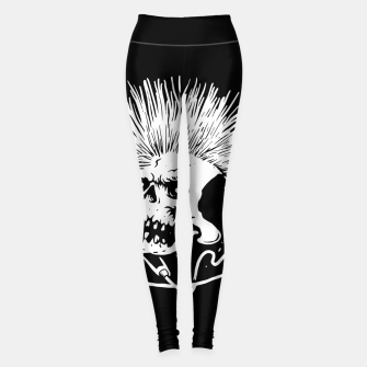 Thumbnail image of Skull Punk Leggings, Live Heroes