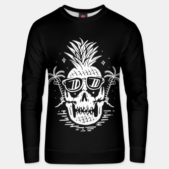 Thumbnail image of Skull Pineapple Unisex sweater, Live Heroes