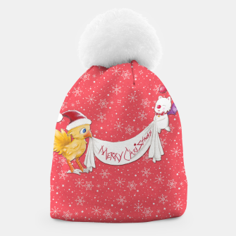 Thumbnail image of Fantasy Xmas~ Final Fantasy  Christmas Winter Beanie, Live Heroes