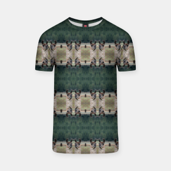Thumbnail image of Llama Portrait 1 Duo Pattern T-shirt, Live Heroes