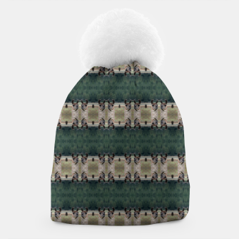 Thumbnail image of Llama Portrait 1 Duo Pattern Beanie, Live Heroes