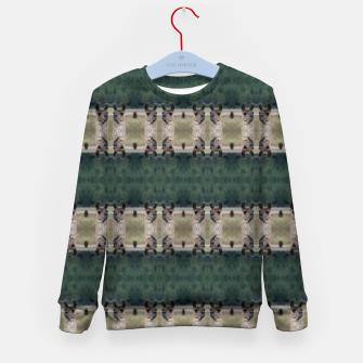 Thumbnail image of Llama Portrait 1 Duo Pattern Kid's sweater, Live Heroes