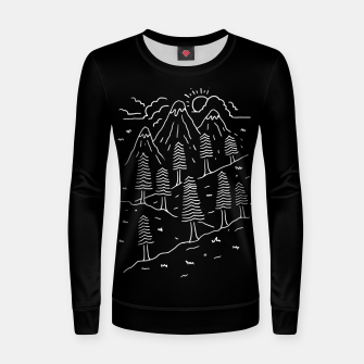 Miniatur Hiking Trails Women sweater, Live Heroes