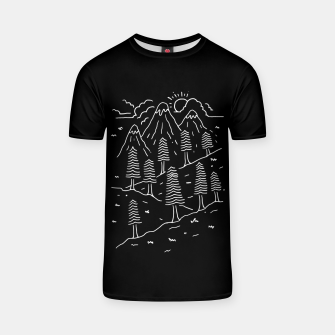Miniatur Hiking Trails T-shirt, Live Heroes