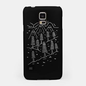 Miniatur Hiking Trails Samsung Case, Live Heroes