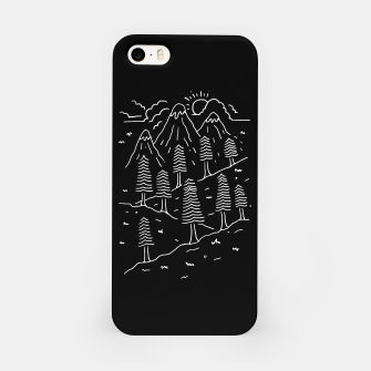 Miniatur Hiking Trails iPhone Case, Live Heroes
