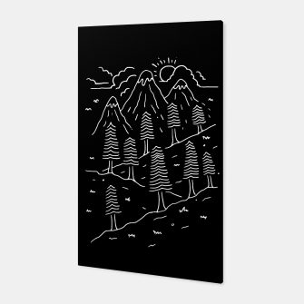 Miniatur Hiking Trails Canvas, Live Heroes