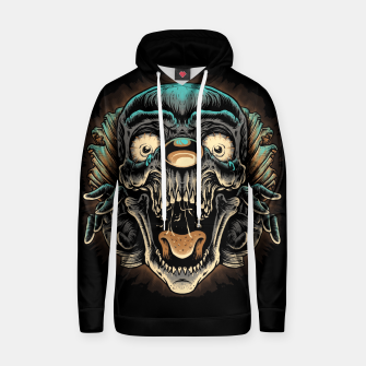 Thumbnail image of Scary Clown Hoodie, Live Heroes