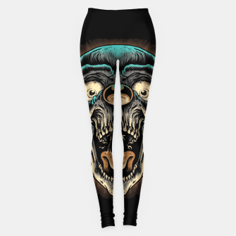 Scary Clown Leggings Bild der Miniatur