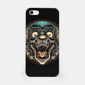 Scary Clown iPhone Case Bild der Miniatur