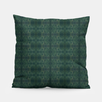 Thumbnail image of Hunter Green Pattern for Llama Portrait  Pillow, Live Heroes