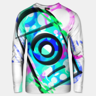 Thumbnail image of blue face can Unisex sweatshirt, Live Heroes
