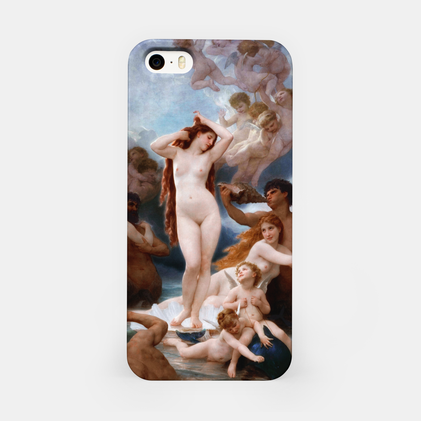 Image of The Birth Of Venus by William-Adolphe Bouguereau iPhone Case - Live Heroes