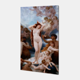 The Birth Of Venus by William-Adolphe Bouguereau Canvas thumbnail image
