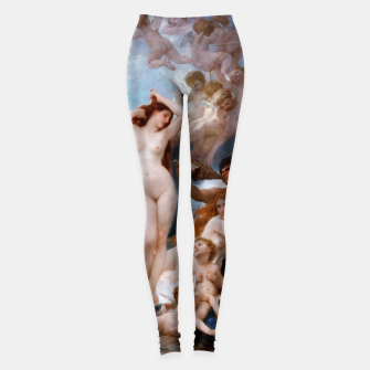 Miniature de image de The Birth Of Venus by William-Adolphe Bouguereau Leggings, Live Heroes