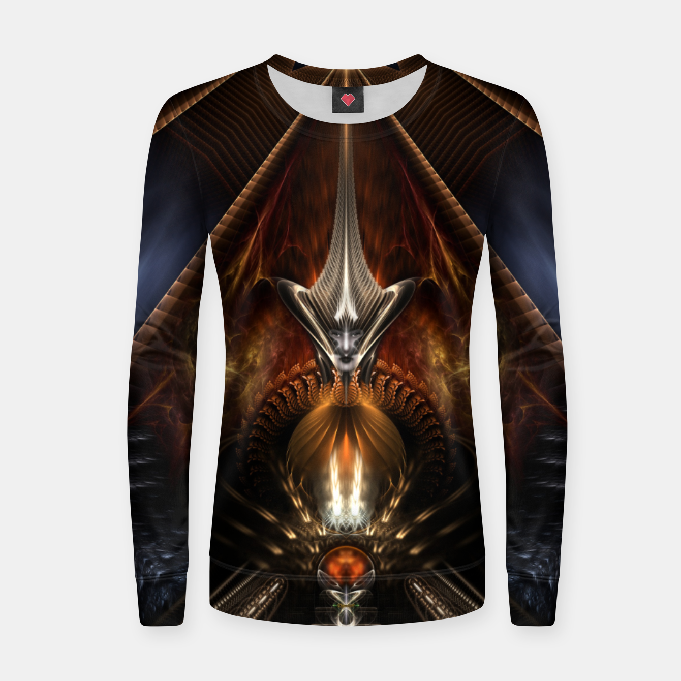 Image of Arteknyia Fantasy Fractal Art Composition Women sweater - Live Heroes