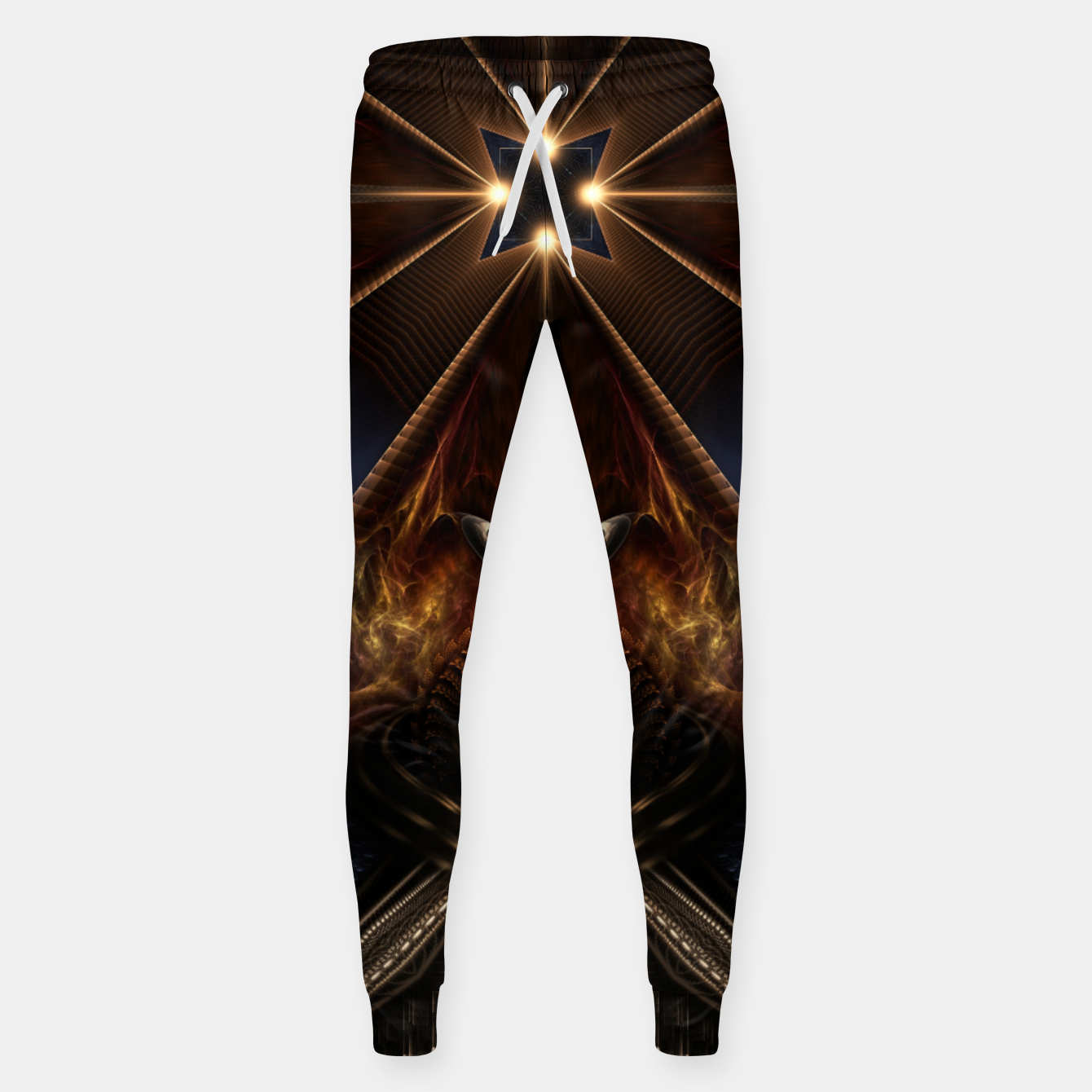 Image of Arteknyia Fantasy Fractal Art Composition Sweatpants - Live Heroes