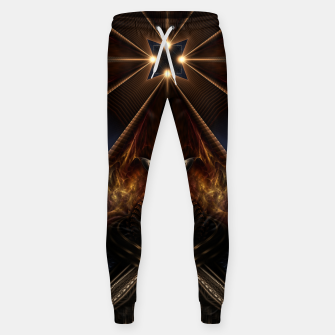 Arteknyia Fantasy Fractal Art Composition Sweatpants thumbnail image
