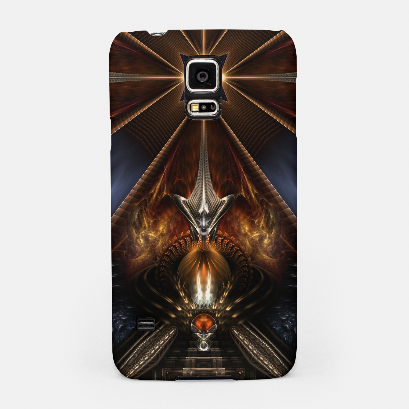 Image of Arteknyia Fantasy Fractal Art Composition Samsung Case - Live Heroes