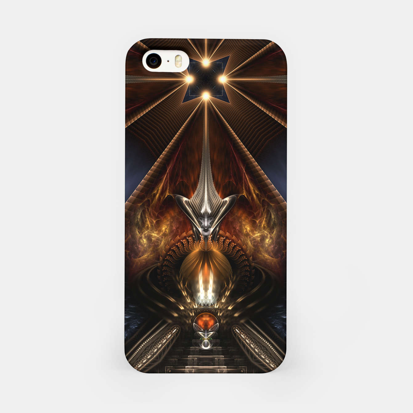 Image of Arteknyia Fantasy Fractal Art Composition iPhone Case - Live Heroes