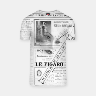 Thumbnail image of Le Figaro T-Shirt, Live Heroes