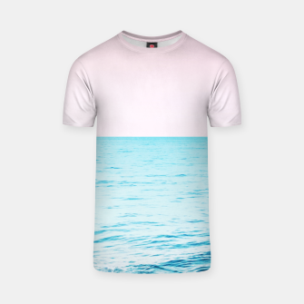 Miniatur Blissful Ocean Dream #1 #wall #decor #art T-Shirt, Live Heroes