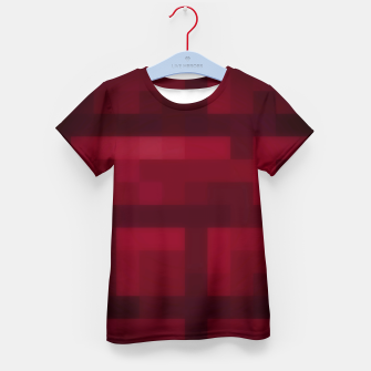 Thumbnail image of nether brick (minecraft) T-Shirt für kinder, Live Heroes