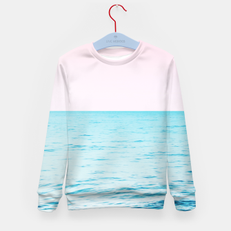 Thumbnail image of Blissful Ocean Dream #1 #wall #decor #art Kindersweatshirt, Live Heroes