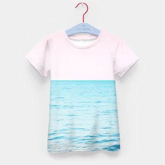 Miniatur Blissful Ocean Dream #1 #wall #decor #art T-Shirt für kinder, Live Heroes