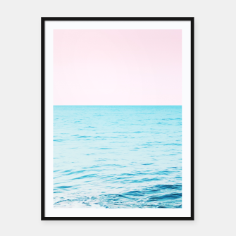 Miniatur Blissful Ocean Dream #1 #wall #decor #art Plakat mit rahmen, Live Heroes