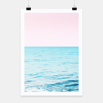 Thumbnail image of Blissful Ocean Dream #1 #wall #decor #art Plakat, Live Heroes