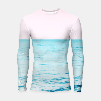 Thumbnail image of Blissful Ocean Dream #1 #wall #decor #art Longsleeve rashguard, Live Heroes