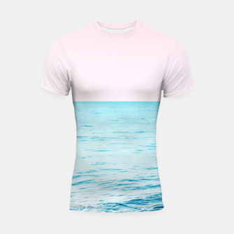 Thumbnail image of Blissful Ocean Dream #1 #wall #decor #art Shortsleeve rashguard, Live Heroes