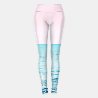 Thumbnail image of Blissful Ocean Dream #1 #wall #decor #art Leggings, Live Heroes