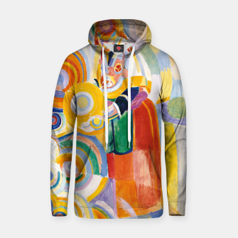 Miniatur Fashion items of Robert Delaunay painting - Portuguese Woman (Mulher Portuguesa) Hoodie, Live Heroes