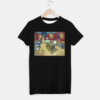 Thumbnail image of Vincent Van Gogh - The Night Cafe T-shirt regular, Live Heroes