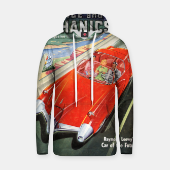 Thumbnail image of Fashion items made of Science and Mechanics cover Car of the Future Hoodie, Live Heroes