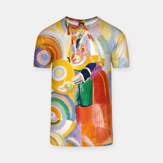 Miniatur Fashion items of Robert Delaunay painting - Portuguese Woman (Mulher Portuguesa) T-shirt, Live Heroes