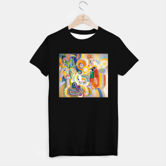 Miniatur Fashion items of Robert Delaunay painting - Portuguese Woman (Mulher Portuguesa) T-shirt regular, Live Heroes