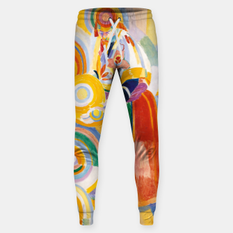 Miniatur Fashion items of Robert Delaunay painting - Portuguese Woman (Mulher Portuguesa) Sweatpants, Live Heroes