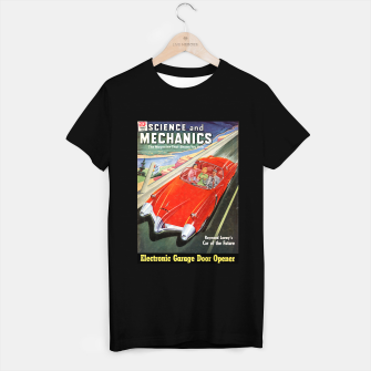 Thumbnail image of Fashion items made of Science and Mechanics cover Car of the Future T-shirt regular, Live Heroes