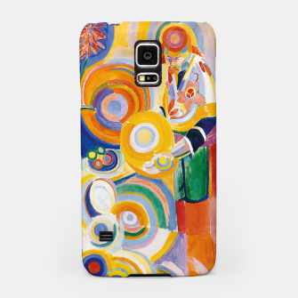 Miniatur Fashion items of Robert Delaunay painting - Portuguese Woman (Mulher Portuguesa) Samsung Case, Live Heroes