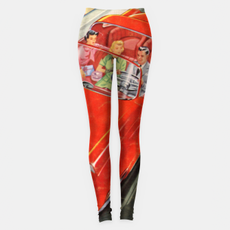 Thumbnail image of Fashion items made of Science and Mechanics cover Car of the Future Leggings, Live Heroes