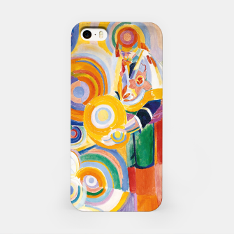 Miniatur Fashion items of Robert Delaunay painting - Portuguese Woman (Mulher Portuguesa) iPhone Case, Live Heroes