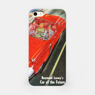 Thumbnail image of Fashion items made of Science and Mechanics cover Car of the Future iPhone Case, Live Heroes