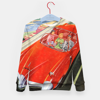 Thumbnail image of Fashion items made of Science and Mechanics cover Car of the Future Kid's sweater, Live Heroes
