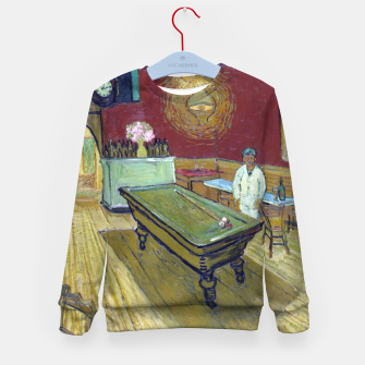 Miniatur Vincent Van Gogh - The Night Cafe Kid's sweater, Live Heroes